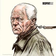 Ilustrace z titulní strany Respektu 13/2014