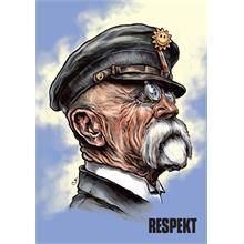Ilustrace z titulní strany Respektu 43/2018