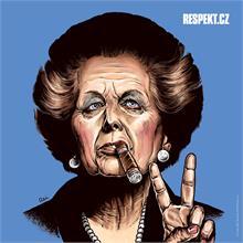 Ilustrace z titulní strany Respektu 16/2013