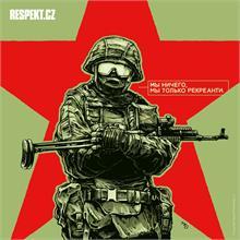 Ilustrace z titulní strany Respektu 36/2014