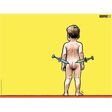 Respekt Ilustrace z titulní strany Respektu 16/2010
