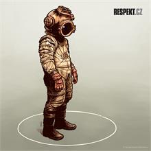 Ilustrace z titulní strany Respektu 12/2013