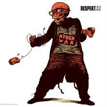 Ilustrace z titulní strany Respektu 11/2013
