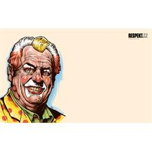 Ilustrace z titulní strany Respektu 25/2012.