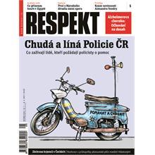 Titulní strana Respekt 5/2011