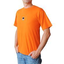 Pánské tričko s krátkým rukávem v oranžové barvě