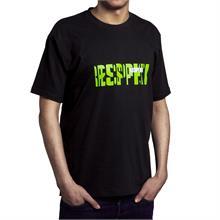 """Černé tričko s krátkým rukávem """"MATRIX"""""""