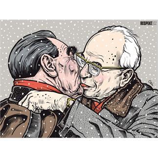 Respekt Ilustrace z titulní strany Respektu 45/2011