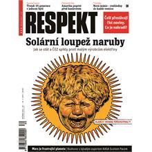 Titulní strana Respekt 30/2011