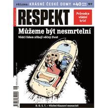 Titulní strana Respekt 16-17/2011