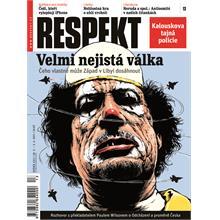 Titulní strana Respekt 13/2011