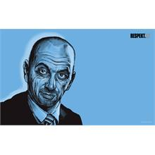 Ilustrace z titulní strany Respektu 46/2012