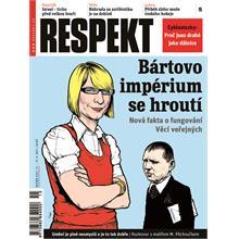 Titulní strana Respekt 15/2011