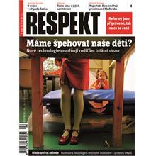Titulní strana Respekt 4/2011