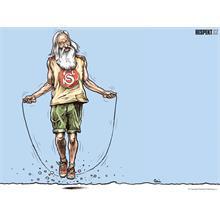 Respekt Ilustrace z titulní strany Respektu 1/2012