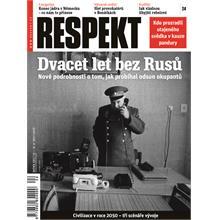 Titulní strana Respekt 24/2011