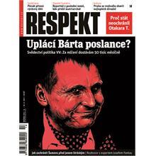 Titulní strana Respekt 14/2011