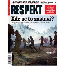 Titulní strana Respekt 8/2011