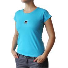 Dámské tričko s krátkým rukávem v barvě tuquoise