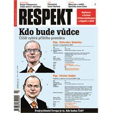 Titulní strana Respekt 7/2011