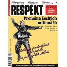 Titulní strana Respekt 10/2011