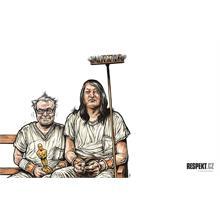 Respekt Ilustrace z titulní strany Respektu 7/2012