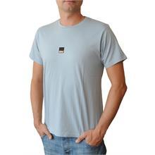 Pánské tričko s krátkým rukávem v barvě light denim