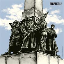 Ilustrace z titulní strany Respektu 31/2014