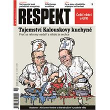 Titulní strana Respekt 11/2011