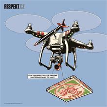 Ilustrace z titulní strany Respektu 32/2014