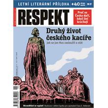 Titulní strana Respekt 26-27/2011