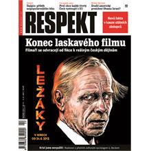Titulní strana Respekt 22/2011