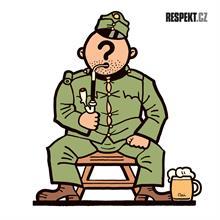 Ilustrace z titulní strany Respektu 17/2013
