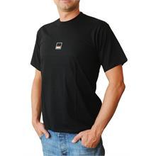 Pánské tričko s krátkým rukávem v černé barvě