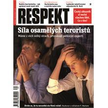Titulní strana Respekt 31/2011