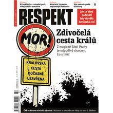 Titulní strana Respekt 32/2011