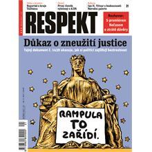 Titulní strana Respekt 21/2011