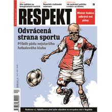 Titulní strana Respekt 20/2011