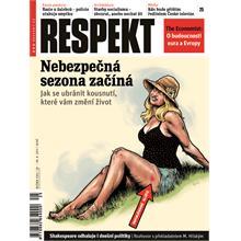 Titulní strana Respekt 25/2011