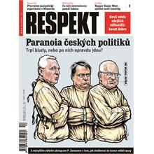 Titulní strana Respekt 2/2011
