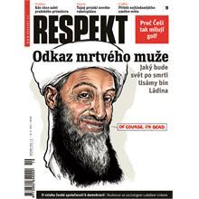Titulní strana Respekt 19/2011