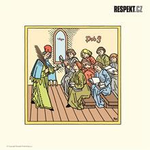 Ilustrace z titulní strany Respektu 14/2014