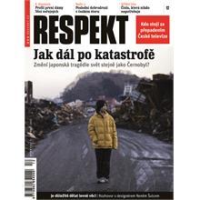 Titulní strana Respekt 12/2011