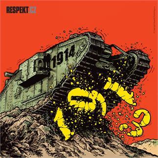 Ilustrace z titulní strany Respektu 39/2013