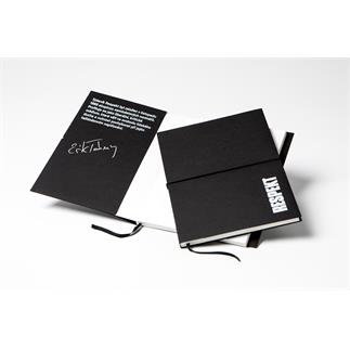 Stylový zápisník s podpisem Erika Taberyho