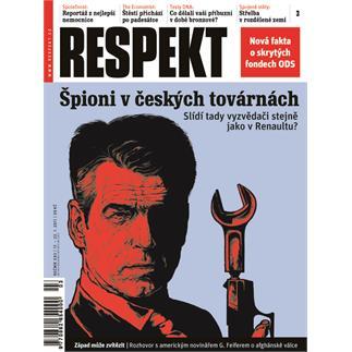 Titulní strana Respekt 3/2011