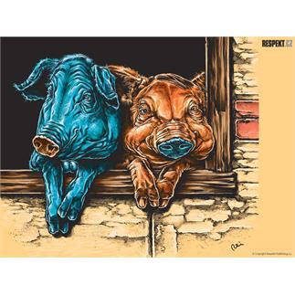 Respekt Ilustrace z titulní strany Respektu 1/2008