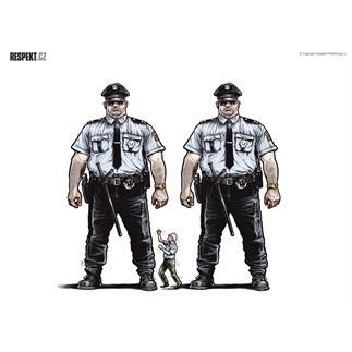 Respekt Ilustrace z titulní strany Respektu 12/2012