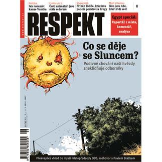Titulní strana Respekt 6/2011