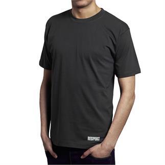 Šedé tričko s krátkým rukávem a logem